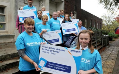 Healthwatch Dorset helps young people raise awareness for World Diabetes Day