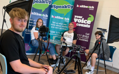 'Mental Health – It's OK to talk': Local people share their mental health stories in a new film from Healthwatch Dorset